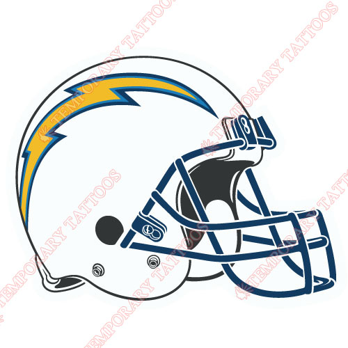 San Diego Chargers Customize Temporary Tattoos Stickers NO.739