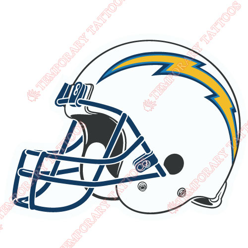 San Diego Chargers Customize Temporary Tattoos Stickers NO.740