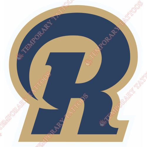 St. Louis Rams Customize Temporary Tattoos Stickers NO.766
