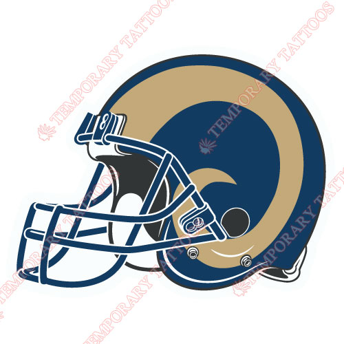 St. Louis Rams Customize Temporary Tattoos Stickers NO.771