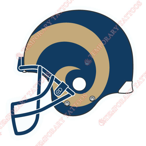 St. Louis Rams Customize Temporary Tattoos Stickers NO.773