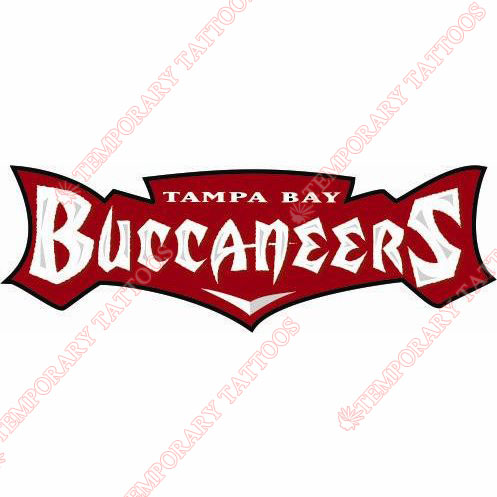 Tampa Bay Buccaneers Customize Temporary Tattoos Stickers NO.822