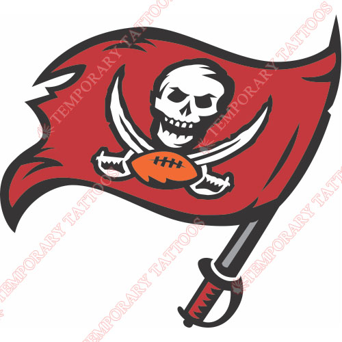 Tampa Bay Buccaneers Customize Temporary Tattoos Stickers NO.825