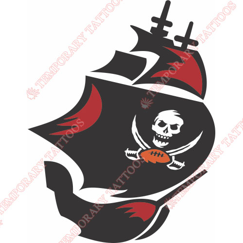 Tampa Bay Buccaneers Customize Temporary Tattoos Stickers NO.826