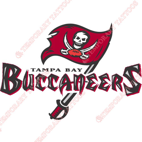 Tampa Bay Buccaneers Customize Temporary Tattoos Stickers NO.827