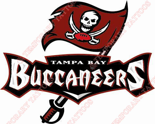 Tampa Bay Buccaneers Customize Temporary Tattoos Stickers NO.828