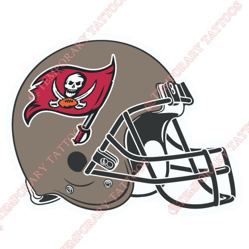 Tampa Bay Buccaneers Customize Temporary Tattoos Stickers NO.829