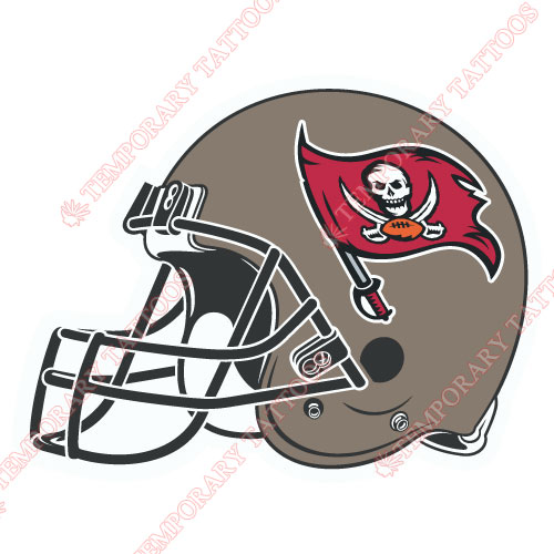 Tampa Bay Buccaneers Customize Temporary Tattoos Stickers NO.830