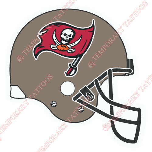 Tampa Bay Buccaneers Customize Temporary Tattoos Stickers NO.831