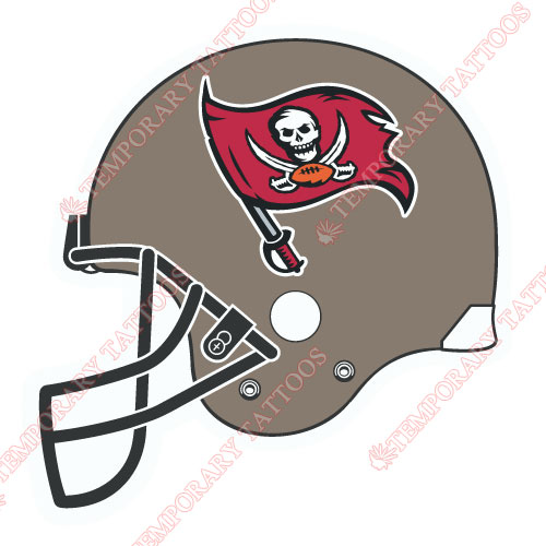 Tampa Bay Buccaneers Customize Temporary Tattoos Stickers NO.832