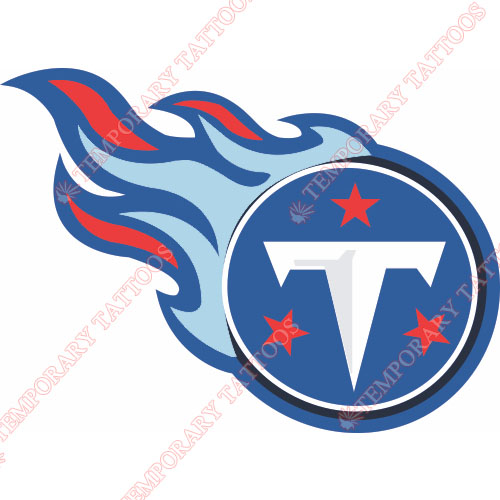 Tennessee Titans Customize Temporary Tattoos Stickers NO.834