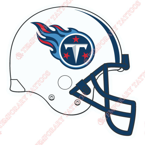 Tennessee Titans Customize Temporary Tattoos Stickers NO.840