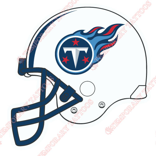 Tennessee Titans Customize Temporary Tattoos Stickers NO.841