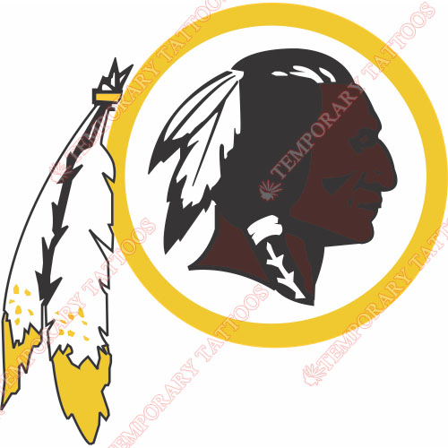 Washington Redskins Customize Temporary Tattoos Stickers NO.844