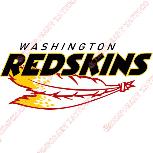 Washington Redskins Customize Temporary Tattoos Stickers NO.848