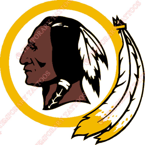 Washington Redskins Customize Temporary Tattoos Stickers NO.849