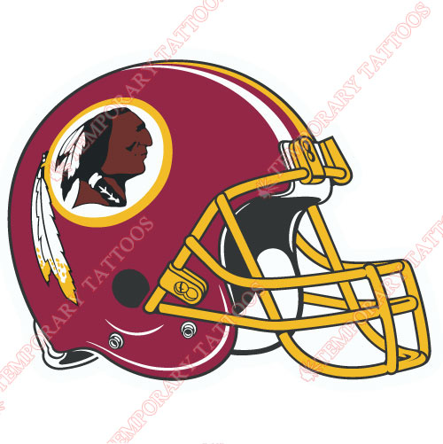 Washington Redskins Customize Temporary Tattoos Stickers NO.852