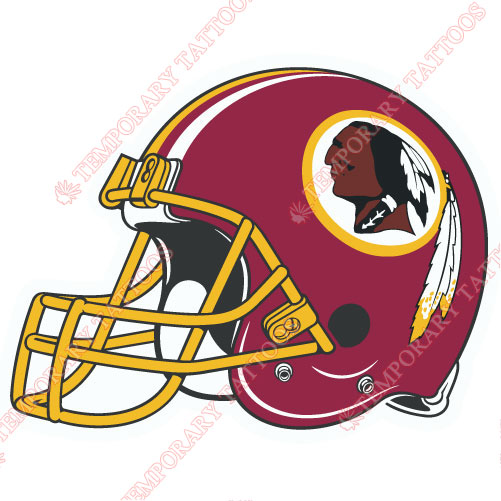 Washington Redskins Customize Temporary Tattoos Stickers NO.853