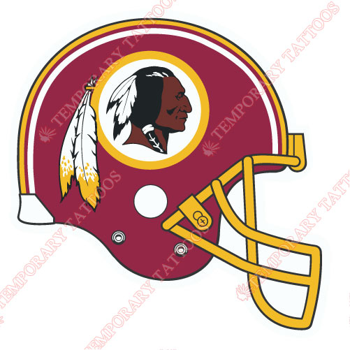 Washington Redskins Customize Temporary Tattoos Stickers NO.854