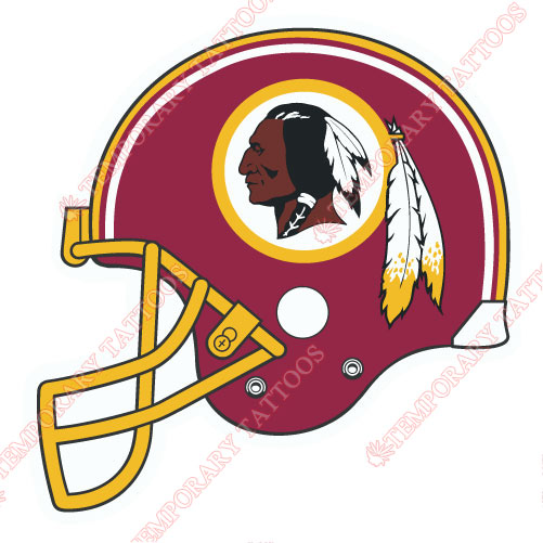 Washington Redskins Customize Temporary Tattoos Stickers NO.855