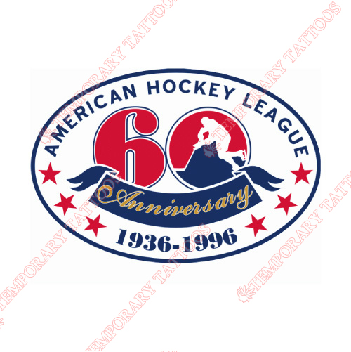 American Hockey League Customize Temporary Tattoos Stickers NO.8971