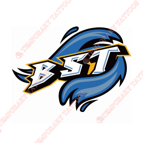 Bridgeport Sound Tigers Customize Temporary Tattoos Stickers NO.8984