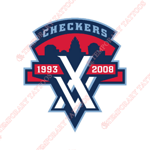 Charlotte Checkers Customize Temporary Tattoos Stickers NO.8989