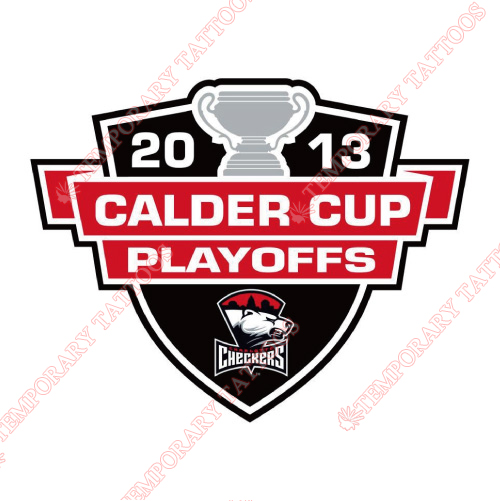 Charlotte Checkers Customize Temporary Tattoos Stickers NO.8997