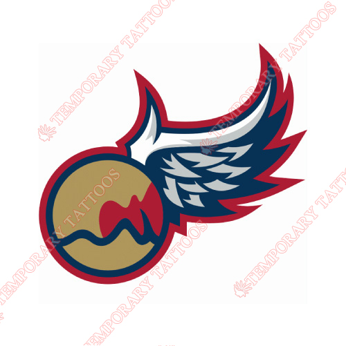 Grand Rapids Griffins Customize Temporary Tattoos Stickers NO.9015