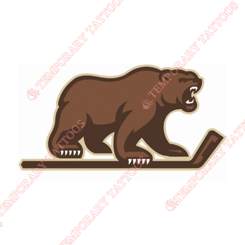 Hershey Bears Customize Temporary Tattoos Stickers NO.9039