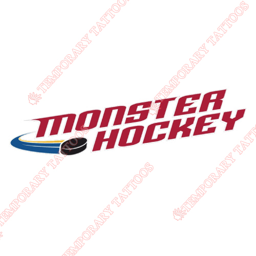Lake Erie Monsters Customize Temporary Tattoos Stickers NO.9057
