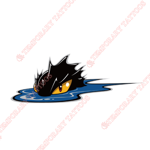 Lake Erie Monsters Customize Temporary Tattoos Stickers NO.9060