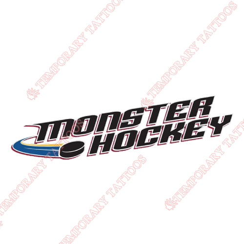 Lake Erie Monsters Customize Temporary Tattoos Stickers NO.9061