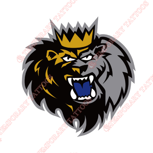 Manchester Monarchs Customize Temporary Tattoos Stickers NO.9067