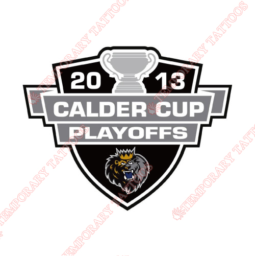 Manchester Monarchs Customize Temporary Tattoos Stickers NO.9074