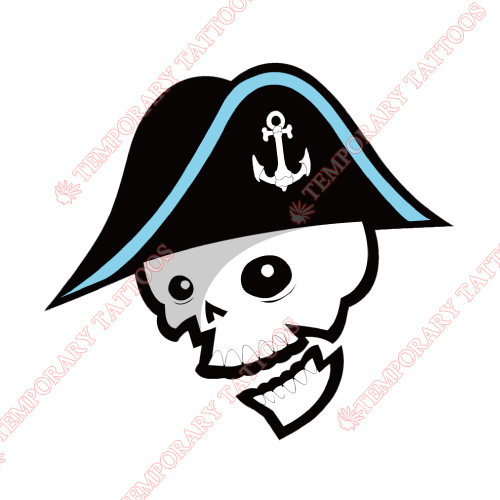 Milwaukee Admirals Customize Temporary Tattoos Stickers NO.9080