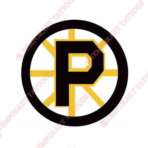 Providence Bruins Customize Temporary Tattoos Stickers NO.9109