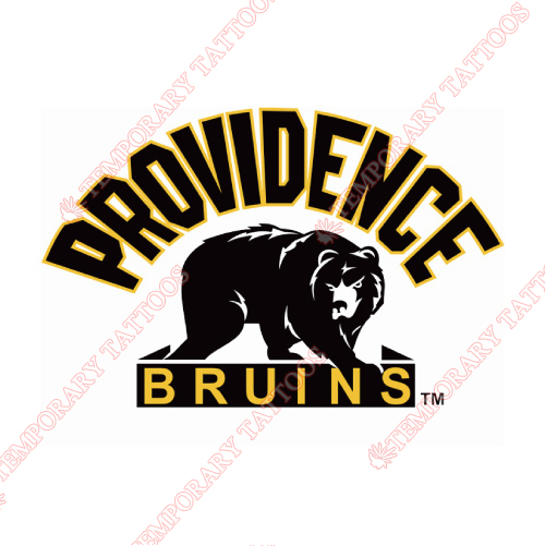Providence Bruins Customize Temporary Tattoos Stickers NO.9110