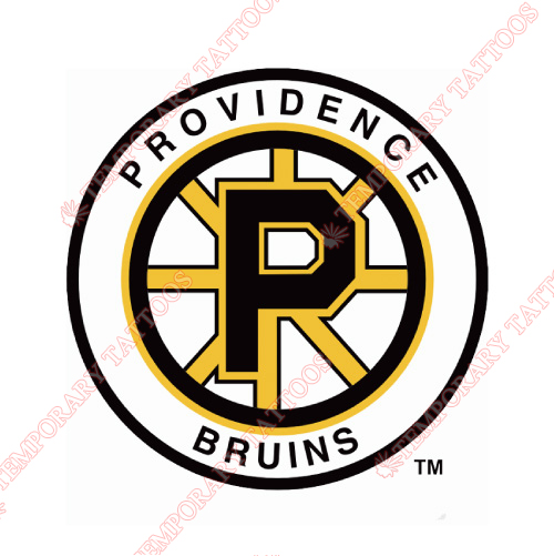 Providence Bruins Customize Temporary Tattoos Stickers NO.9112