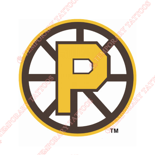 Providence Bruins Customize Temporary Tattoos Stickers NO.9113