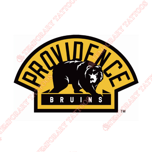 Providence Bruins Customize Temporary Tattoos Stickers NO.9115