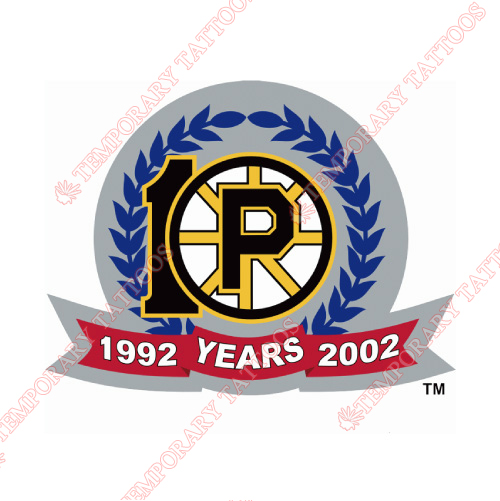 Providence Bruins Customize Temporary Tattoos Stickers NO.9116