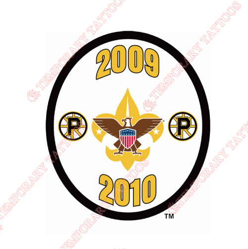 Providence Bruins Customize Temporary Tattoos Stickers NO.9117