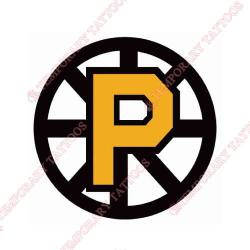 Providence Bruins Customize Temporary Tattoos Stickers NO.9118