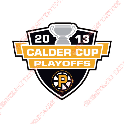Providence Bruins Customize Temporary Tattoos Stickers NO.9119