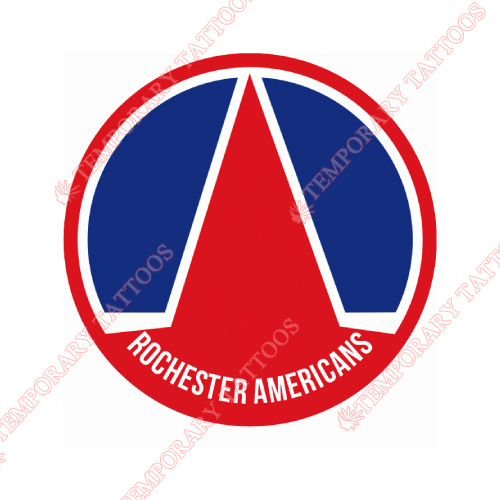 Rochester Americans Customize Temporary Tattoos Stickers NO.9124