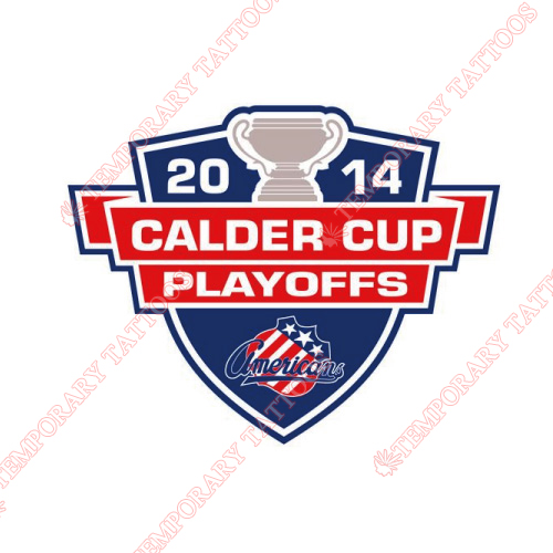 Rochester Americans Customize Temporary Tattoos Stickers NO.9128