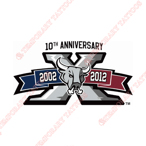 San Antonio Rampage Customize Temporary Tattoos Stickers NO.9133