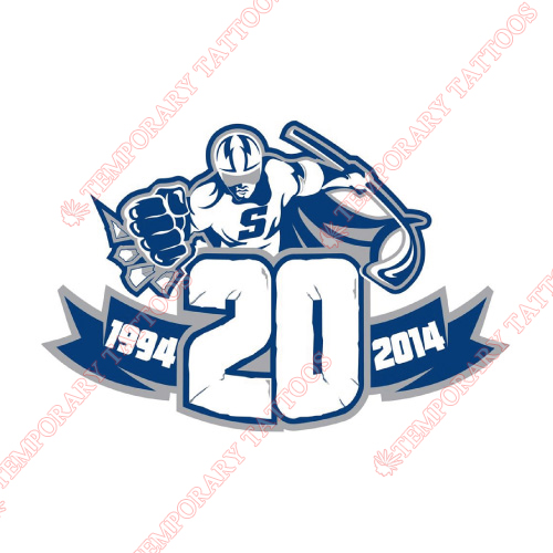 Syracuse Crunch Customize Temporary Tattoos Stickers NO.9160