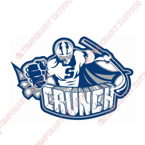Syracuse Crunch Customize Temporary Tattoos Stickers NO.9162